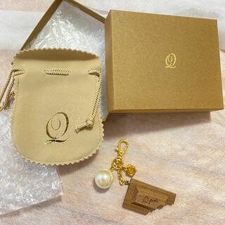 キューポット(Q-pot.)のQ-POT. バッグチャーム/木製チョコレートとパール(チャーム)