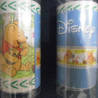 ディズニー(Disney)の2本組 壁紙ボーダーテープ プー 計10m(その他)