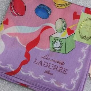 LADUREE - ラデュレ☆大判ハンカチーフ58×58