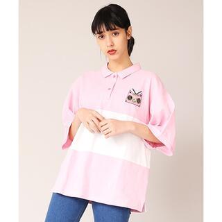 プニュズ(PUNYUS)のPUNYUS ワンポイントビッグポロシャツ(Tシャツ(半袖/袖なし))
