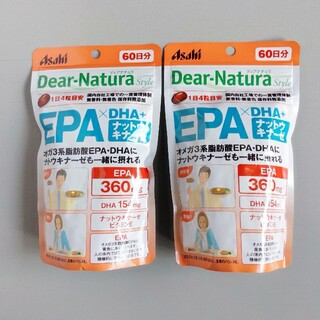 アサヒ - ディアナチュラスタイル EPA×DHA +ナットウキナーゼ 240粒×2