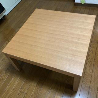 ムジルシリョウヒン(MUJI (無印良品))のローテーブル(コタツ)(ローテーブル)