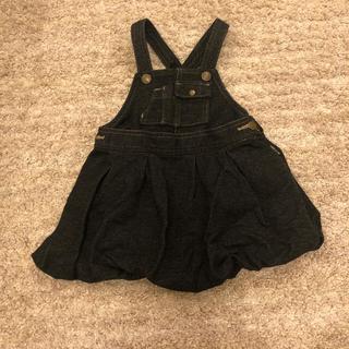 コムサイズム(COMME CA ISM)のコムサ ジャンパースカート バルーン 80サイズ(ワンピース)