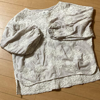 ピュアルセシン(pual ce cin)のピュアルセシン 刺繍トップス(シャツ/ブラウス(長袖/七分))