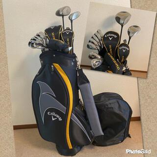 キャロウェイゴルフ(Callaway Golf)の人気‼️【超美品】キャロウェイ♪ウォーバード★ゴルフクラブセット/メンズ 男性(クラブ)
