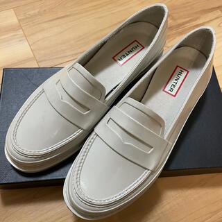 ハンター(HUNTER)の美品 ハンター/Hunter レインローファー UK5 US7 24.0㎝(ローファー/革靴)