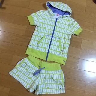 プーマ(PUMA)のPUMA 上下セット 150cm(Tシャツ/カットソー)