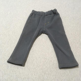 アンパサンド(ampersand)のAMPERSAND ベビー 裏起毛 長ズボン グレー サイズ80(パンツ)