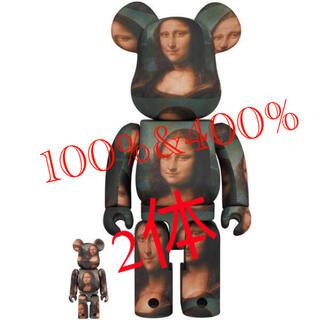 メディコムトイ(MEDICOM TOY)のBE@RBRICK Mona Lisa 100% & 400% モナリザ MCT(フィギュア)