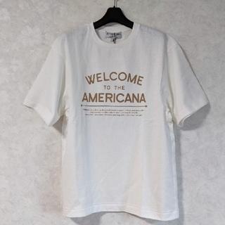 アメリカーナ(AMERICANA)の【別注】 Americana アメリカーナ プリントTシャツ(Tシャツ(半袖/袖なし))