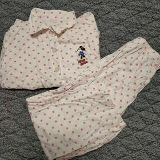 ジーユー(GU)の長袖 パジャマ GU 女の子 130 ディズニー ミニー (パジャマ)