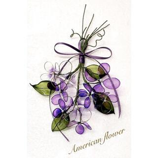 アメリカンフラワー 紫陽花 スワッグ (インテリア雑貨)