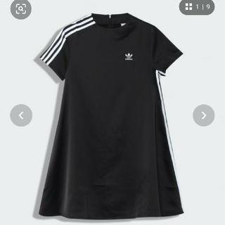 アディダス(adidas)の新品未使用 アディダスワンピース(ひざ丈ワンピース)