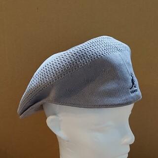 カンゴール(KANGOL)の美品 KANGOL TROPIC 504 VENTAIR ハンチング L(ハンチング/ベレー帽)
