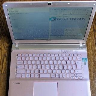 バイオ(VAIO)のSONY VAIO SVE14A1AJ ピンク  ノートパソコン(ノートPC)