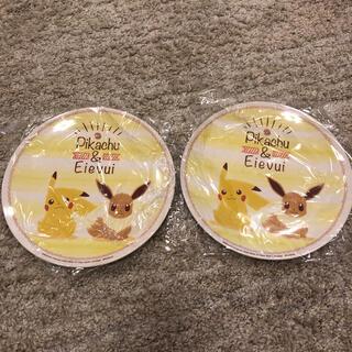 新品★ ポケモン メラニン平皿 2枚(食器)
