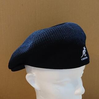 カンゴール(KANGOL)の美品 KANGOL TROPIC 504 VENTAIR ハンチング M(ハンチング/ベレー帽)