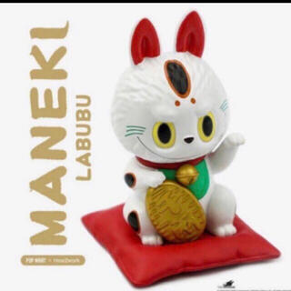LABUBU 招き猫 日本限定 POPMART(キャラクターグッズ)