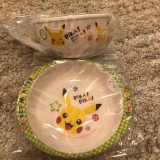 新品★ ポケモン お茶碗 小皿 セット(食器)
