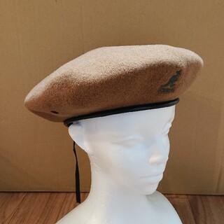 カンゴール(KANGOL)の美品 KANGOL SMU WOOL BIG MONTY ハンチング キャップ(ハンチング/ベレー帽)