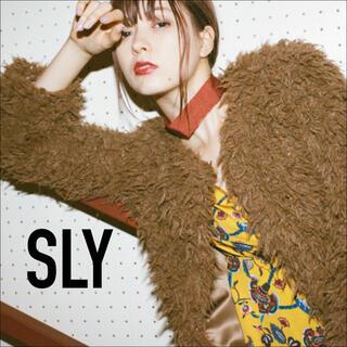 SLY - SLY*FLUFFY COAT  ファーコート ジャケット*マウジー エモダ