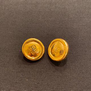 ジバンシィ(GIVENCHY)のGIVENCHY  ゴールド  ロゴ  ピアス(ピアス)