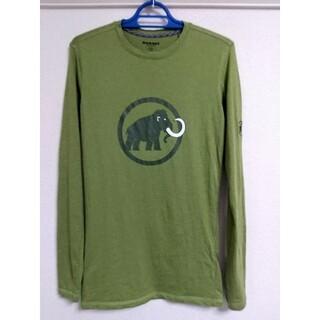 マムート(Mammut)のMammut Logo Longsleeve Men XS(Tシャツ/カットソー(半袖/袖なし))