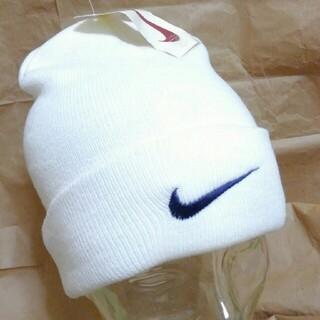 ナイキ(NIKE)のNIKE ニット帽 ニットキャップ デッドストック 90s ~ 00s (ニット帽/ビーニー)