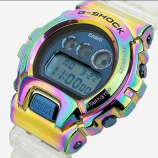 カシオ(CASIO)の(新品未使用) kith x G-shock GM-6900 rainbow(腕時計(デジタル))