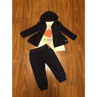 Gucci - グッチ Tシャツ パーカー ズボン パンツ スエット セットアップ 80  90