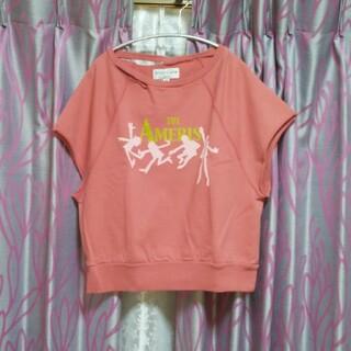 アメリカーナ(AMERICANA)の新品 アメリカーナ フレンチスリーブスウェット(Tシャツ(半袖/袖なし))