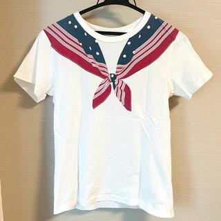 ビームスボーイ(BEAMS BOY)のBEAMSBOY 襟 Tシャツ(Tシャツ(半袖/袖なし))