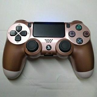 プレイステーション4(PlayStation4)のデュアルショック4 ローズゴールド(その他)