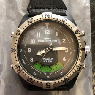 TIMEX - TIMEX 腕時計 サファリ ハイブリッド ブラック 日本限定T91650 廃盤