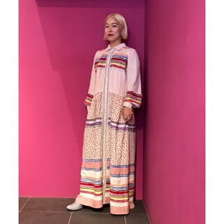 ビームスボーイ(BEAMS BOY)の【送料無料・BEAMS BOY】maturely seminole dress(ロングワンピース/マキシワンピース)