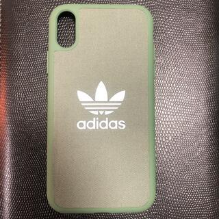 アディダス(adidas)のiPhone⑩R用 携帯ケース カバー(その他)