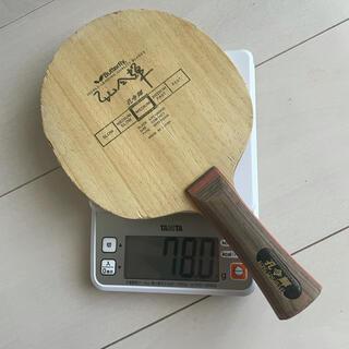 バタフライ(BUTTERFLY)の【黒蝶】孔令輝 バタフライ 卓球ラケット  ティモボル(卓球)