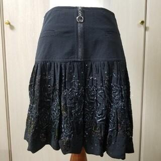 ディーゼル(DIESEL)の新品値札タグ付arva avrilスカートUne blanche plume(ひざ丈スカート)