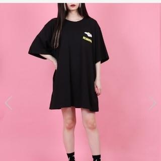 プニュズ(PUNYUS)のプニュズ フードサガラ刺繍Tシャツ 目玉焼き(Tシャツ(半袖/袖なし))