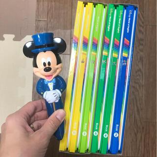 ディズニー(Disney)の2020年最新DWE メインプログラム 絵本 ライトライトペンセット♪(知育玩具)