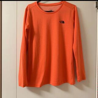 ザノースフェイス(THE NORTH FACE)のノースフェイス トレーニングウェア 登山 美品(Tシャツ(長袖/七分))