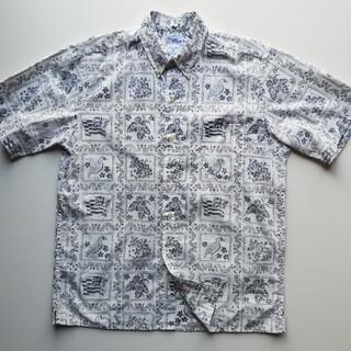 Reyn Spooner - レインスプーナー◆ビキニタグ◆ラハイナセーラー ハワイ製 アロハシャツ
