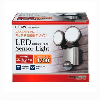 エルパ(ELPA)のELPA LEDセンサーライト 屋外用 防雨防犯 コンセント式 1700ルーメン(防災関連グッズ)
