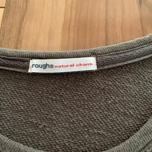 rough(ラフ)の【rough】お菓子のくに⭐︎トレーナー チュニック レディースのトップス(チュニック)の商品写真