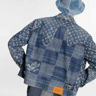 ルイヴィトン(LOUIS VUITTON)のlouisvuitton × nigo デニムジャケット(Gジャン/デニムジャケット)