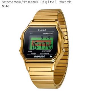 シュプリーム(Supreme)のSupreme Timex DigitalWatch ゴールド(腕時計(デジタル))