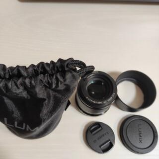 パナソニック(Panasonic)のPanasonic Lumix G 42.5mm f1.7 ASPH(レンズ(単焦点))