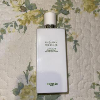 エルメス(Hermes)のナイルの庭 ボディークリーム 断捨離中(ボディローション/ミルク)