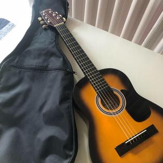 子ども用ギター調律済みソフトケース付き(アコースティックギター)