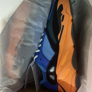 アディダス(adidas)のアディダス イージーブースト 700 ブライトブルー 27cm(スニーカー)